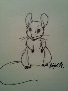 Drawn rodent adorable Animal Mice mouse DrawingsRodentsDrawing and