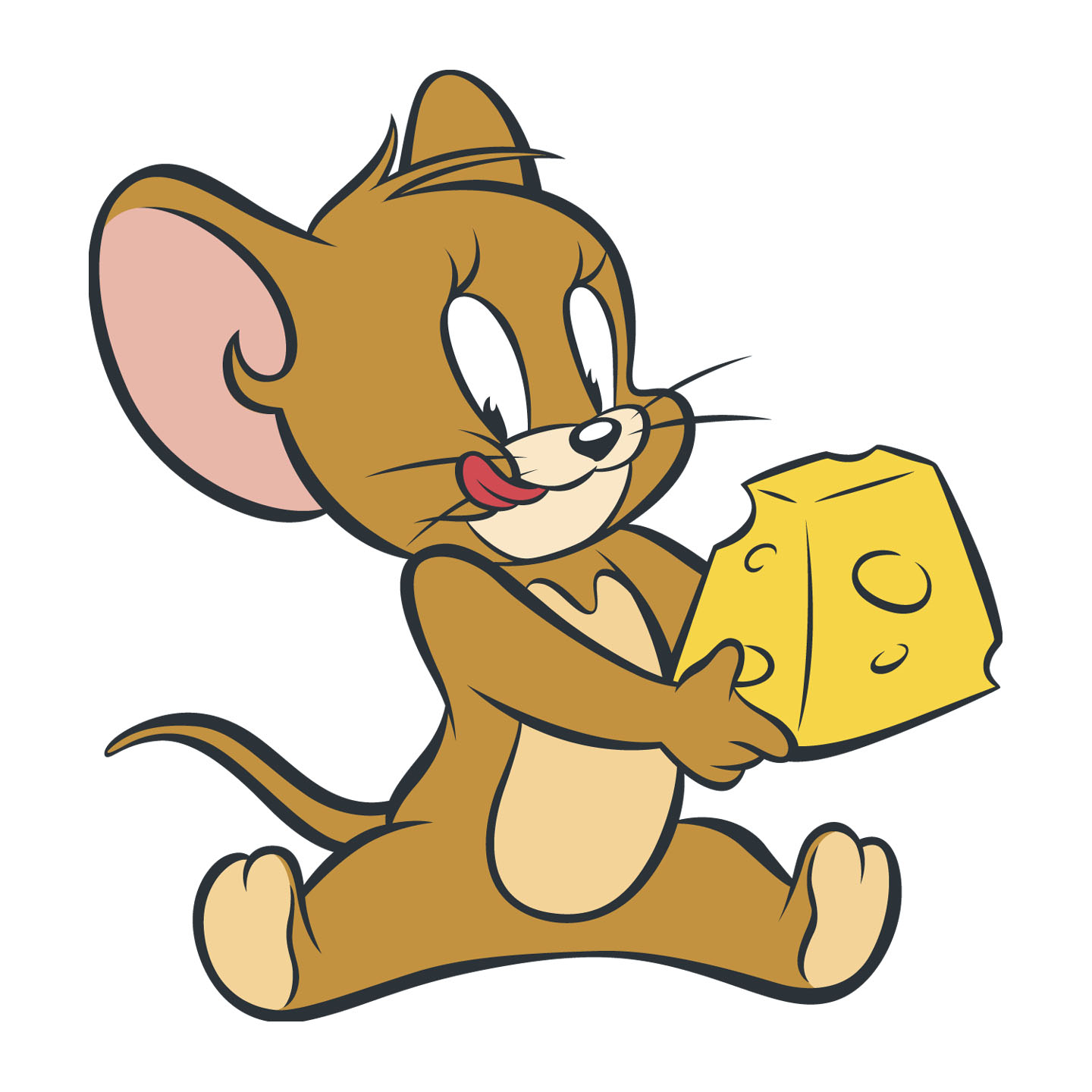 Drawn cheese tom and jerry #1