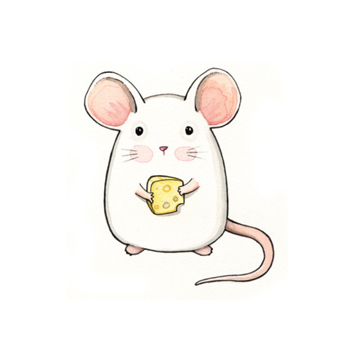 Drawn rodent little mouse Little Little Draws mouse Pinterest