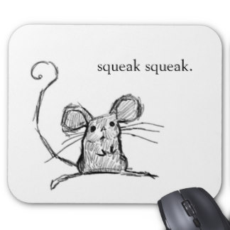 Drawn rodent squeaky Little Squeak Mouse on Drawing