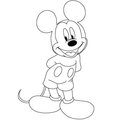 Drawn amd mickey mouse Mickey Mouse: to Steps Draw