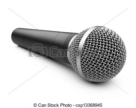 Drawn microphone karaoke  Karaoke isolated Drawing of