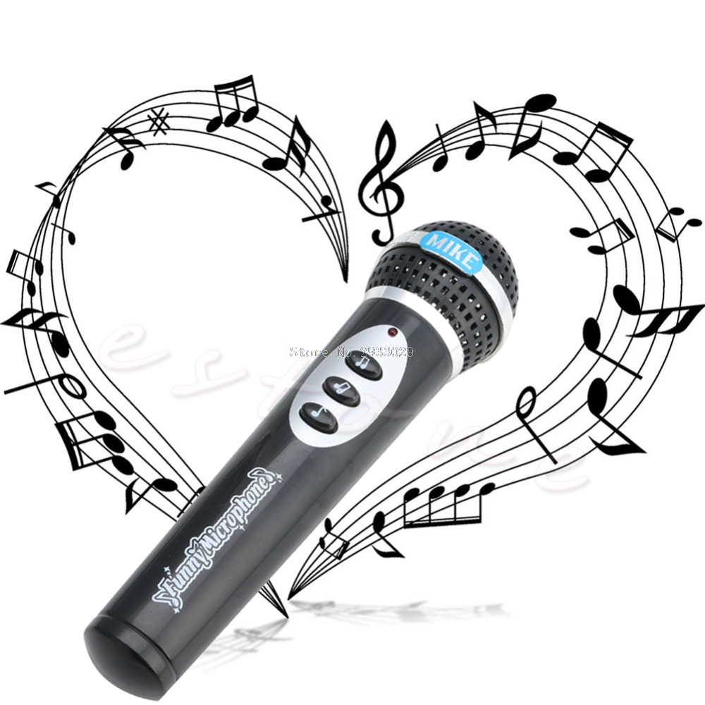 Drawn microphone karaoke  Online Microphone Toy com