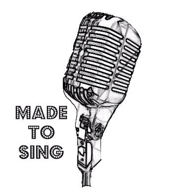 Drawn microphone singing Sing on Dance best 342