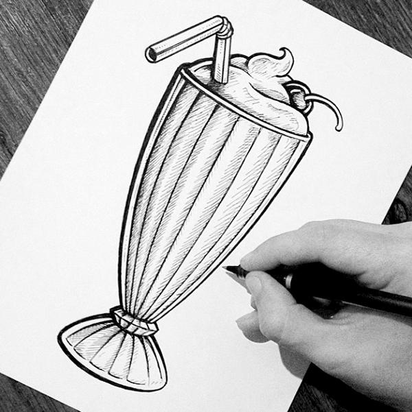 Drawn milkshake Search drawing milkshake drawing Google