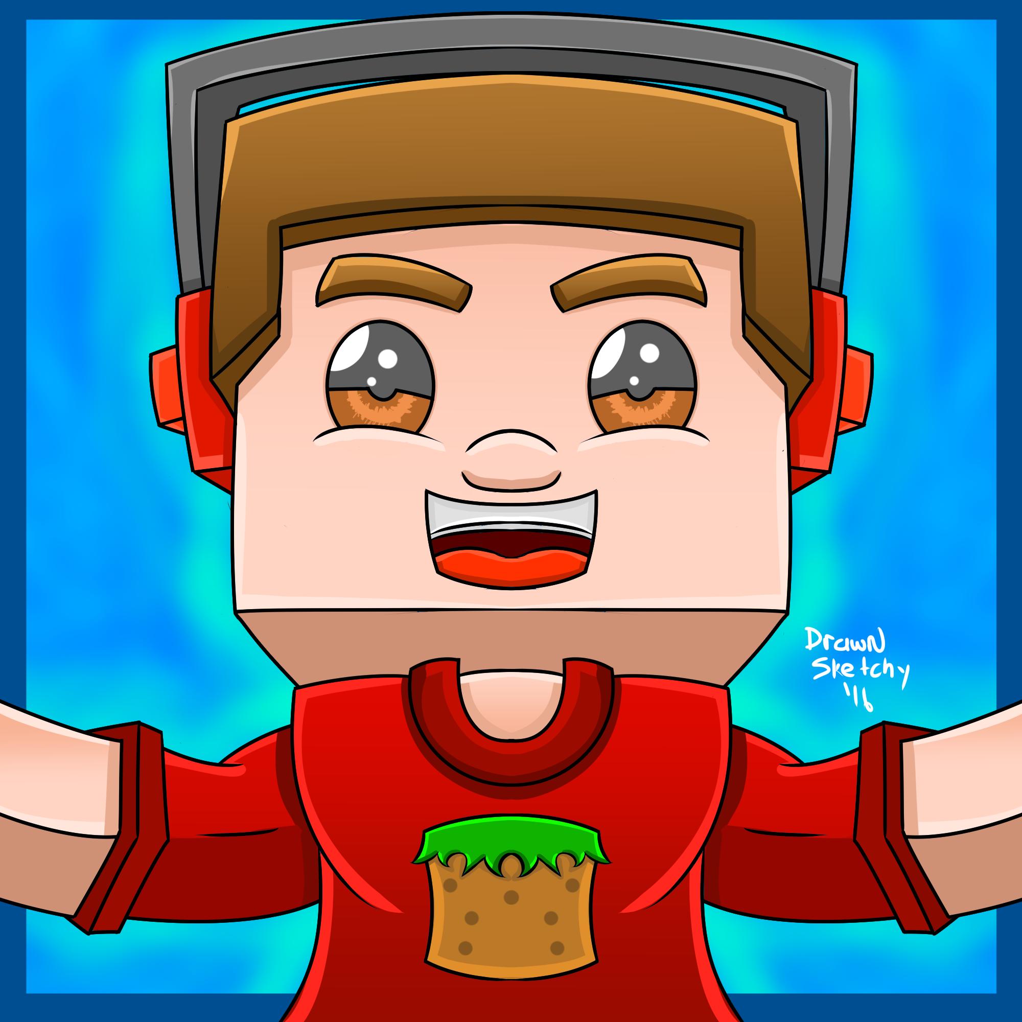 Drawn amd avatar Minecraft Flash DeviantArt by DrawnSketchy