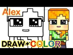 Drawn minecraft kawaii Easy YouTube Cute Kids to