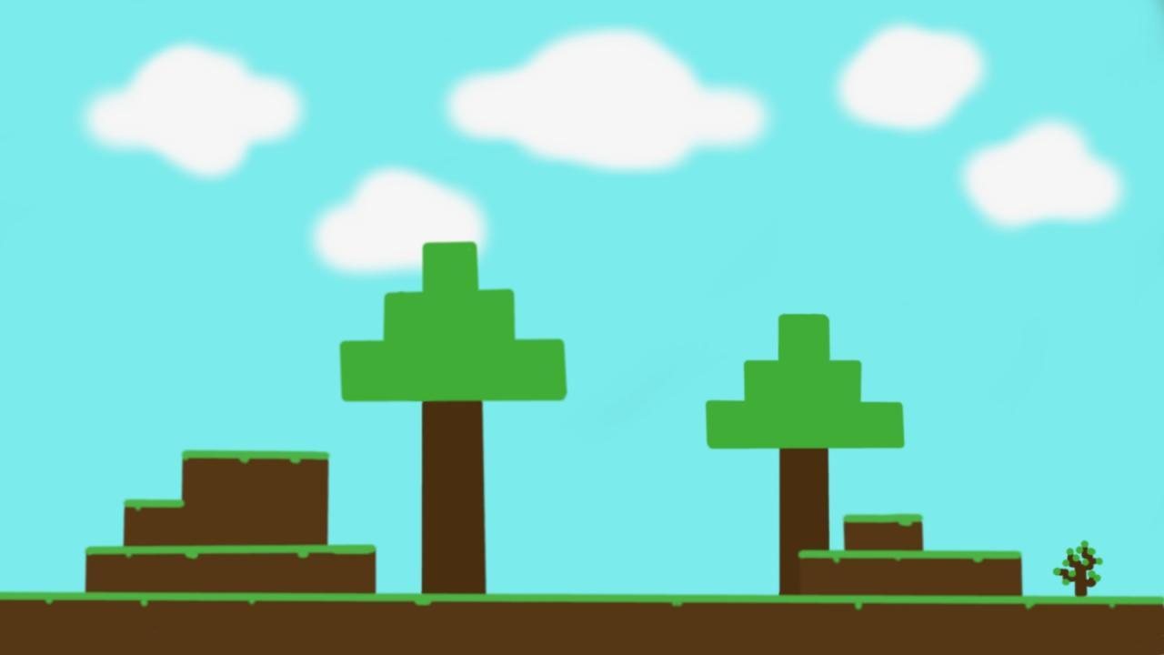 Drawn background desktop  Background Blog Minecraft Minecraft