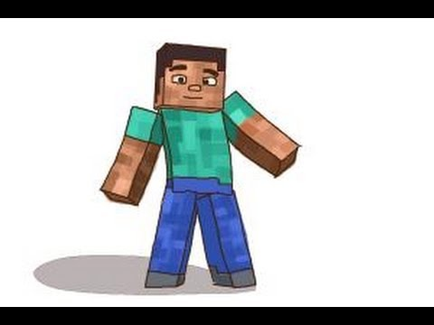 Drawn minecraft minecraft character To to characters characters draw