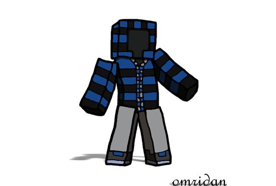 Drawn minecraft minecraft character : draw a on minecraft