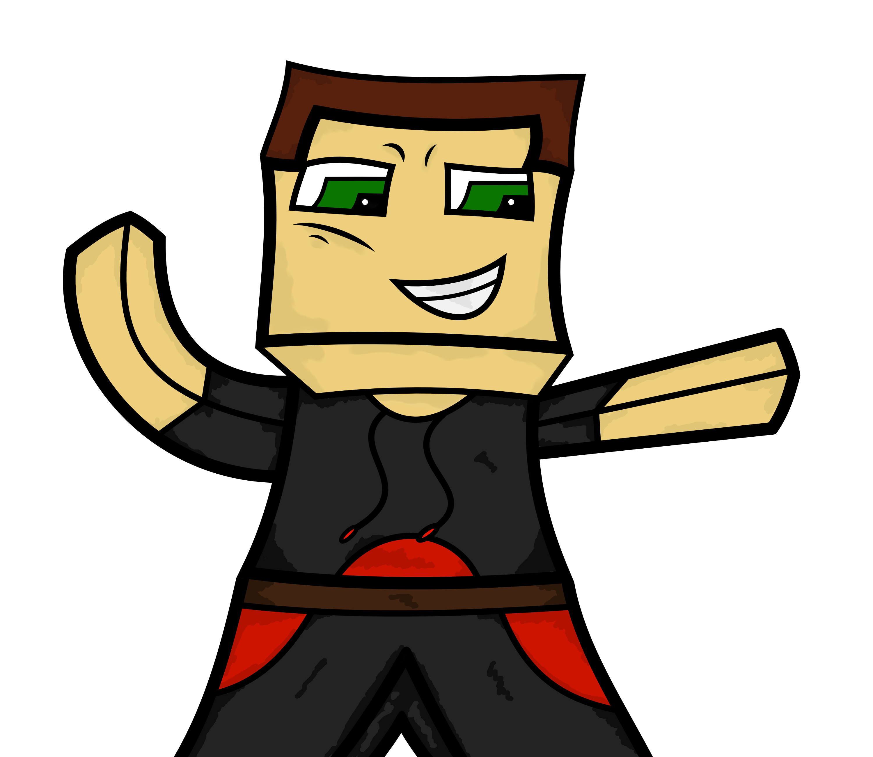 Drawn minecraft minecraft character Something sketching much in reckon