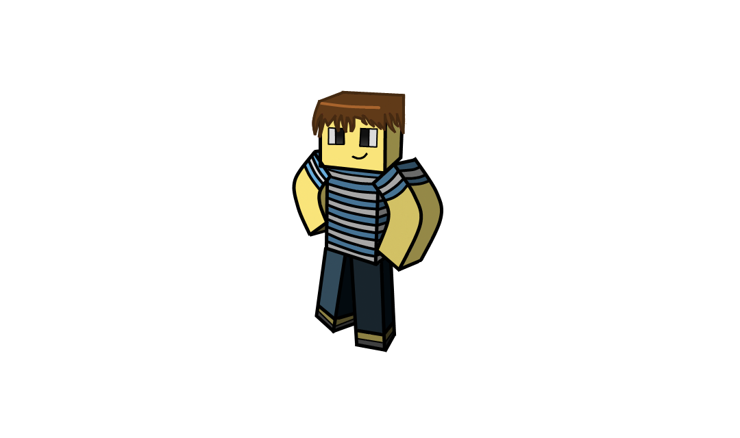 Drawn minecraft minecraft character Png draw Mine character! and