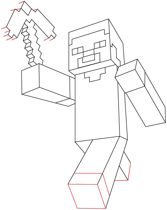 Drawn minecraft simple From 11 Lego Easy it
