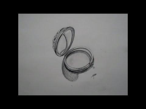 Drawn mirror To Art a How Pencil
