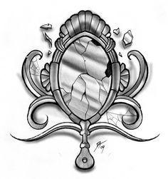 Drawn mirror Vintage Google mirror Pinterest how
