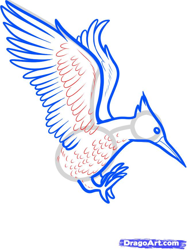 Drawn mockingbird Mockingjay draw how Step How