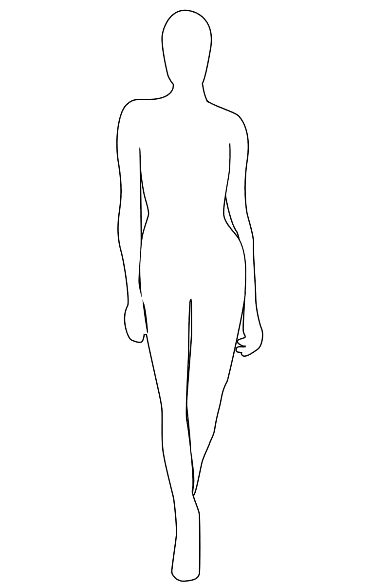 Drawn model Mannequin  Boot The Poses