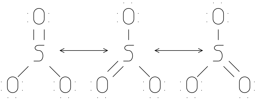 Drawn Molecule So3