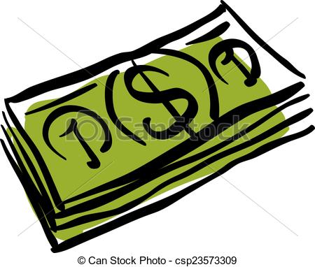 Drawn money Icon drawn packet money drawn