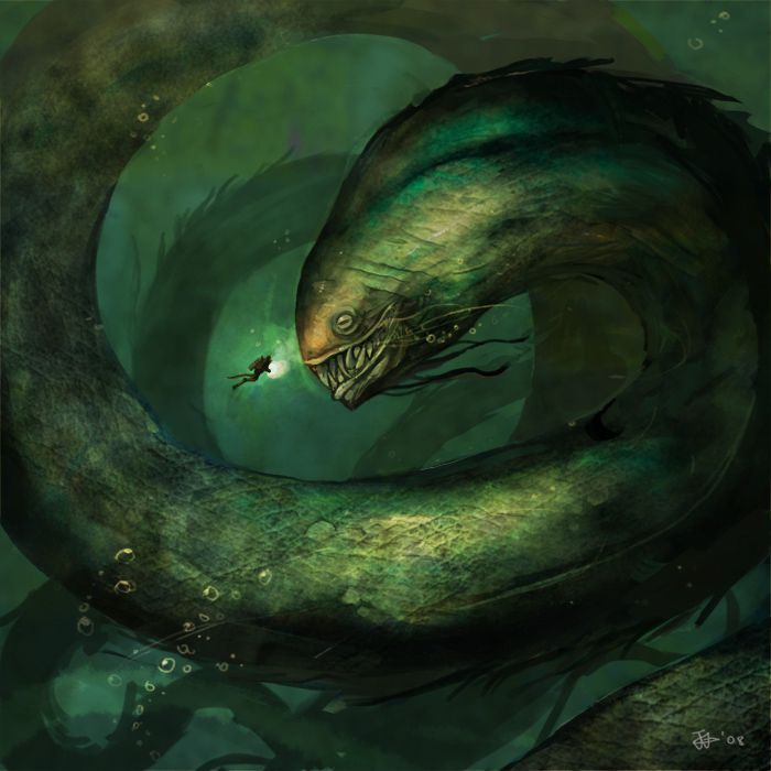 Drawn sea life sea monster Pinterest monsters Pin Best more