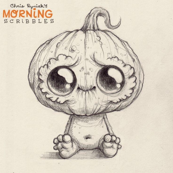 Drawn sad monster Pinterest Scribbles images Morning on