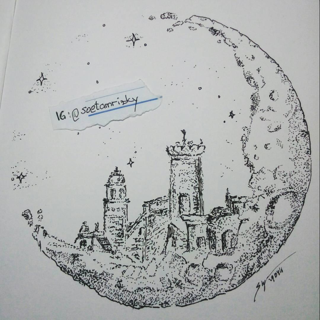 Drawn stare doodle art #pointilism  #doodle view…part 2