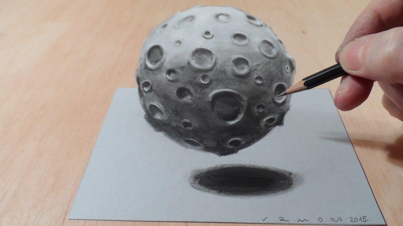 Drawn 3d art magic #5