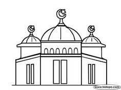 Drawn mosque Pinterest Search mosque drawing ideas