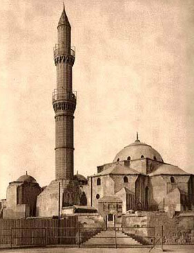 Drawn mosque Egypt of Khadim al Pasha