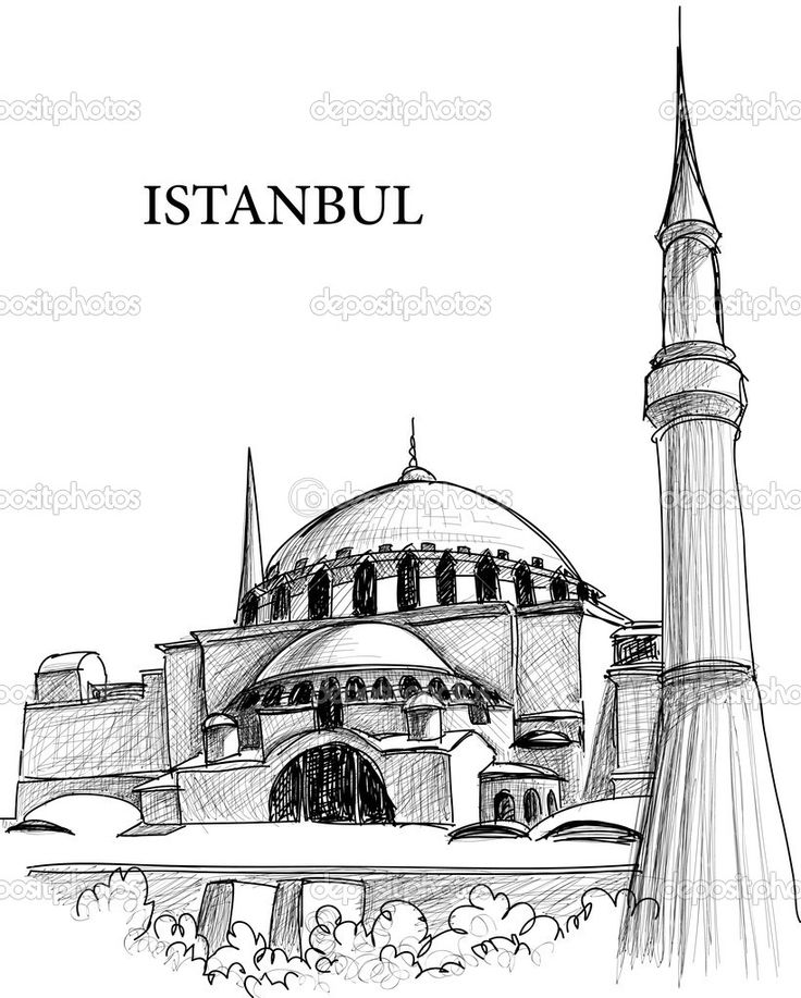 Drawn mosque Pinterest Sketch 60 images best