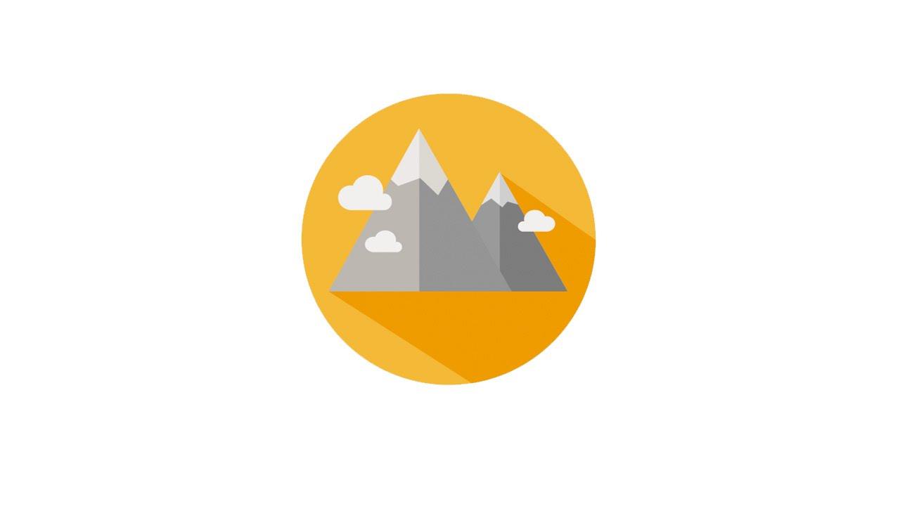 Drawn mountain adobe illustrator Adobe illustrator illustrator Adobe with