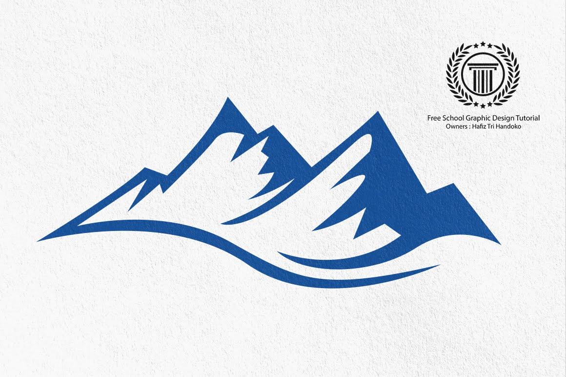 Drawn mountain adobe illustrator Adobe to illustrator Mountain Design