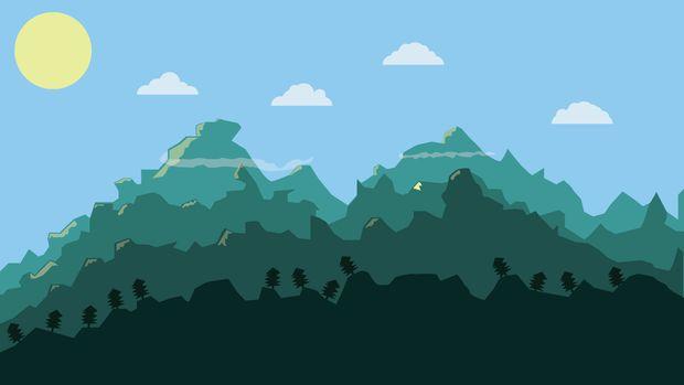 Drawn mountain adobe illustrator Using Landscape Draw How Mountains