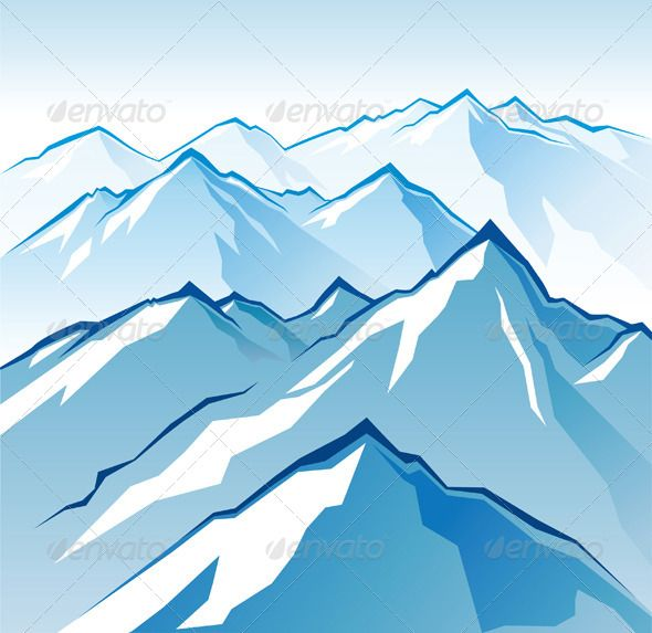 Drawn snowfall ice mountain Pinterest cartoon The ideas Cartoon