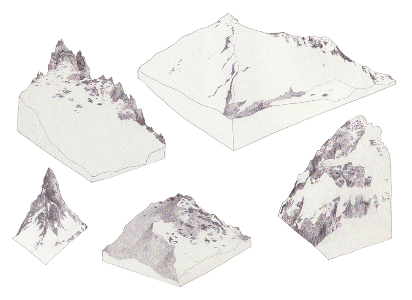 Drawn mountain isometric By Isometric mountains GO by