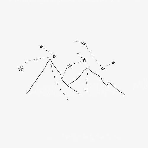 Drawn star easy 25+ on constellation image Pinterest