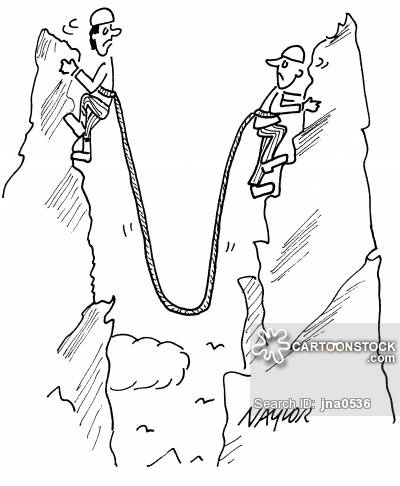 Drawn mountain mountain climbing Cartoons funny mountain from Climbing