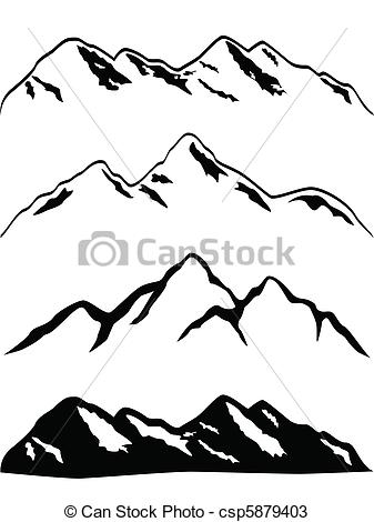 Peak clipart mountain sketch Find mountain Inspiration peaks Pin
