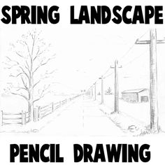 Drawn nature perspective drawing  to Point How Scene