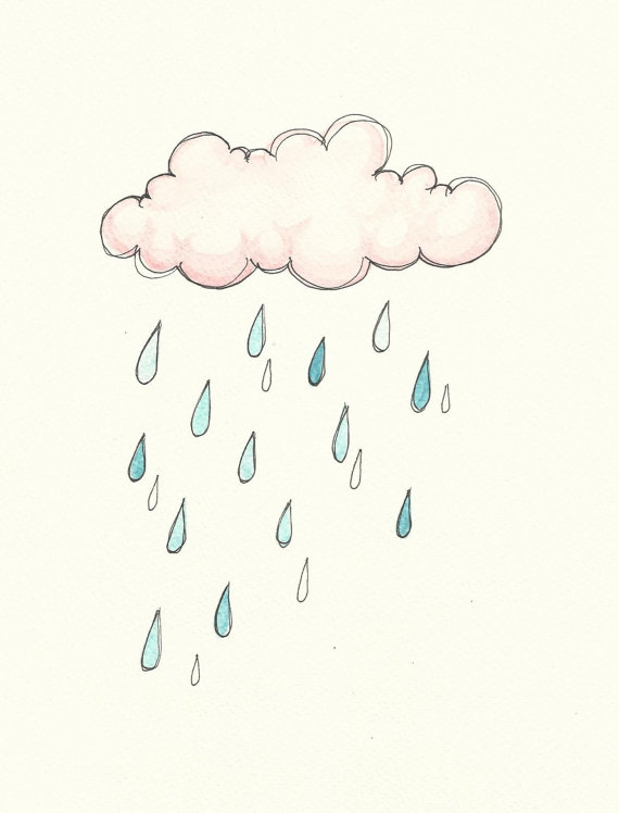 Drawn rain background tumblr Decor ink Search Rain Home