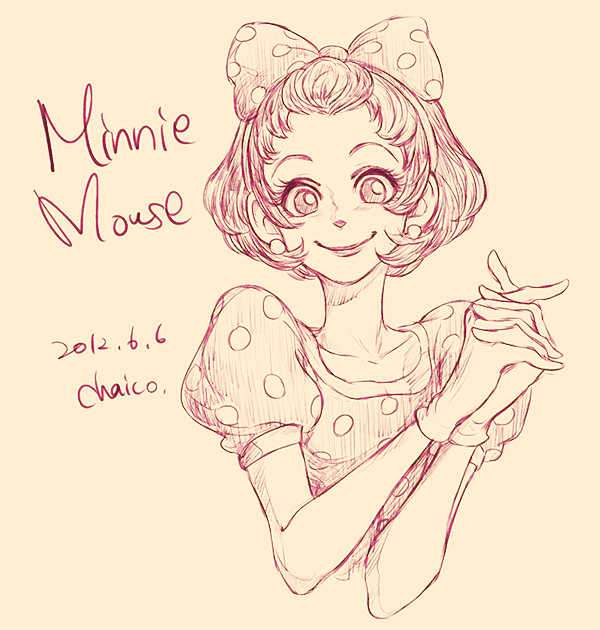 Drawn mouse deviantart DeviantArt Minnie Mouse chacckco on