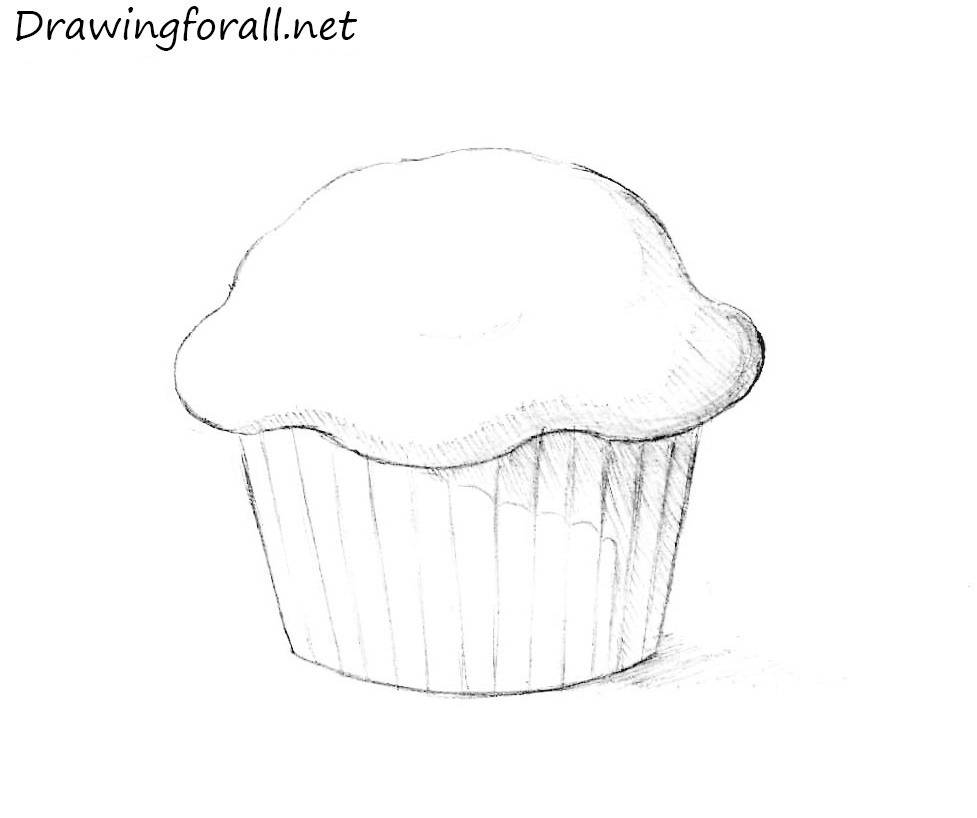 Drawn muffin Draw a DrawingForAll to Muffin