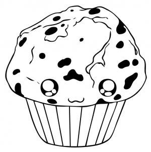 Drawn muffin Muffin draw Hellokids com how