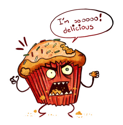 Muffin clipart funny (link images cupcake (link cartoon
