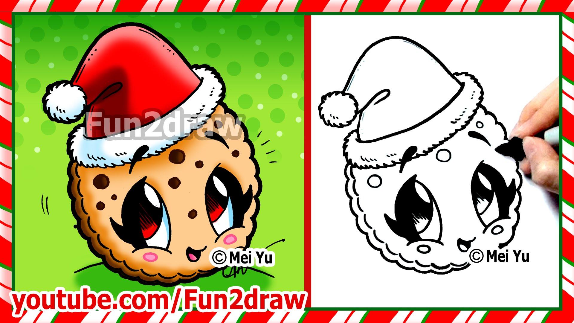 Drawn santa hat cute A Easy How YouTube Draw