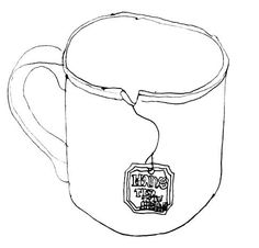 Drawn mug Parrott mug Make Cup Erica