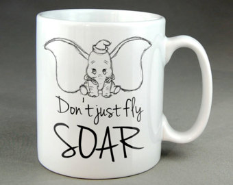 Drawn mug SOAR Hand Hand Size Fly