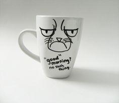 Drawn mug Thing cat Extra Rare such