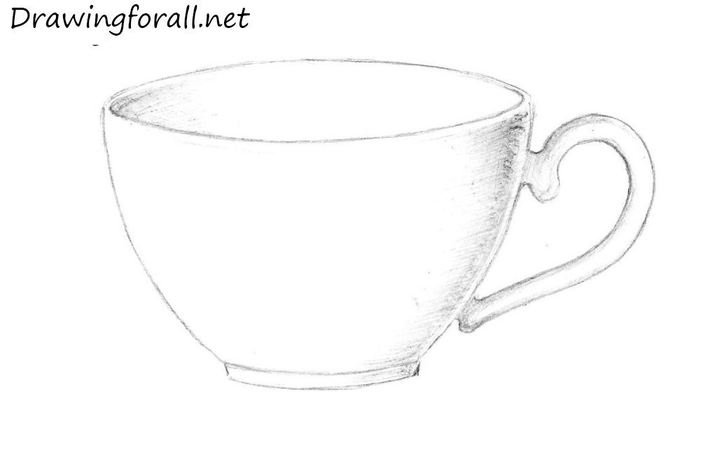 Drawn mug How how net DrawingForAll cup