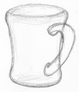 Drawn mug Draw Your Blog Drawing Shape